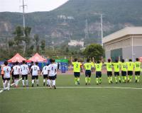 最终诚毅学院2-1战胜华厦学院,获得2016年厦门市青少年校园足球大学生联赛的第五名